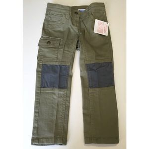 NWT army green kids jeans